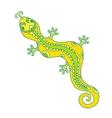 lizard pattern vector image vector image