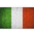 Mosaic Flag of Italy vector image