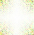 Multicolored abstract dot pattern background vector image vector image