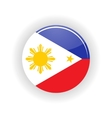 Philippines icon circle vector image