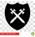 Security Shield Eps Icon vector image vector image
