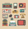 226retro equipment vector image vector image