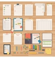 Agenda business notes vector image vector image