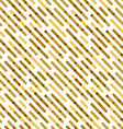 Flat Background with Golden Diagonal Lines vector image vector image