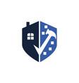 home construction logo design template vector image