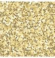 Radial tile mosaic design background pattern vector image vector image
