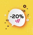 sale tag special offer banner template trendy vector image vector image