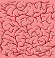 seamless pattern with brains vector image vector image