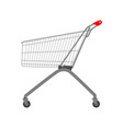 shop cart trolley icon supermarket retail store vector image