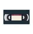 vhs cassette case vector image vector image