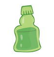 bottle isolated vector image vector image
