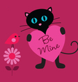 cat valentine vector image vector image