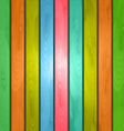 Colorful wood plank background vector image vector image