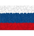Hearts doodles hand drawn flag Russia Moscow vector image vector image