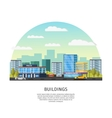 Modern Cityscape Template vector image vector image