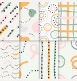 patterns-set vector image vector image