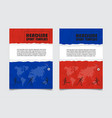 russia flag colors background design can be used vector image vector image
