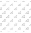 sea cliff pattern seamless vector image