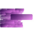 violet fuchsia abstract art background banner vector image