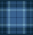 Blue tartan plaid seamless pattern