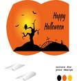 bonbonniere happy halloween vector image vector image