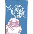 Dead Cosmonaut vector image vector image