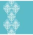 Light blue swirls damask vertical seamless pattern vector image vector image