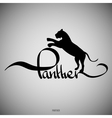 Panther Calligraphic elements