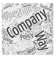 Procedural Questions Word Cloud Concept vector image vector image