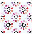 seamless nail polish pattern vector image