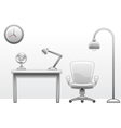 office furniture vector image