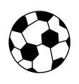 balloon soccer sport icon vector image vector image