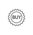 buy tag icon vector image
