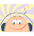 cartoon music vector image vector image