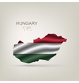 flag hungary as a country vector image