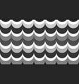 flat fashionable stylish wavy background vector image vector image