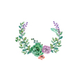 Flower Wedding decoration vector image