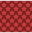 modern red 23 february seamless pattern vector image vector image