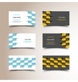 Taxi business card set vector image vector image