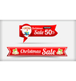 026 Collection of Merry Christmas sale web tag vector image vector image