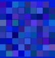 blue abstract 3d square background vector image vector image