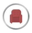 Chair icon of for web and vector image