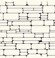 monochrome stone wall seamless pattern vector image
