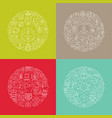 round design element concept vector image