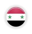 Syria icon circle vector image