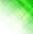 abstract green background with square shapes vector image vector image