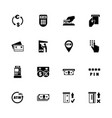 atm - flat icons vector image vector image