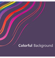 Colorful background abstract design creative