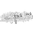 easy card tricks the informer vector image vector image