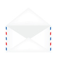 Opened envelope vector image